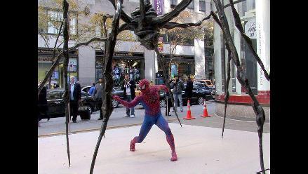 La araña gigante de Louise Burgeis se expone en Nueva York