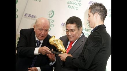 Cristiano Ronaldo: Cambiaba la Bota de Oro por la Liga o la Champions