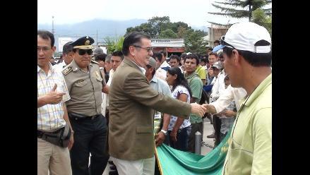 Moyobamba: Ministro del Interior anuncia creación de Policía Rural