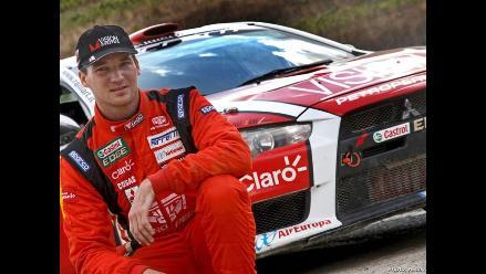 Fuchs partió a Inglaterra para correr última fecha del Mundial de Rally
