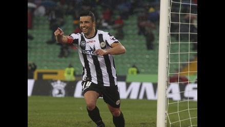 Lazio y Udinese lideran la Serie A de Italia pero Milan los acecha