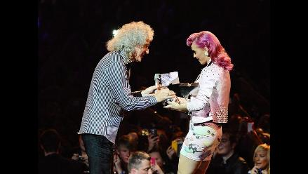 MTV EMA 2011: Katy Perry entrega premio Ícono Global a Queen