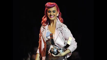MTV EMA 2011: Katy Perry se llevó el primer premio de la noche