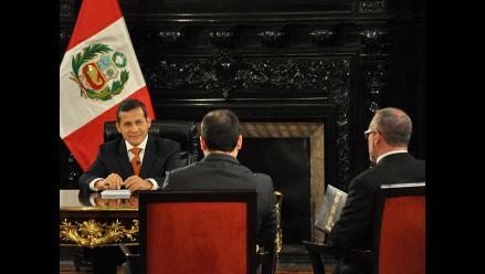 Lo que dejó primer balance del presidente Humala en sui generis diálogo
