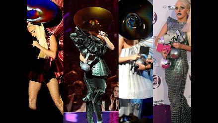 Lady Gaga sorprende con extravagantes trajes en los MTV EMA