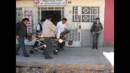 Cajamarca: Atacan a vendedora que exigía el cierre de puestos por paro