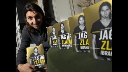 Polémica biografía de Zlatan Ibrahimovic es éxito de ventas en Suecia