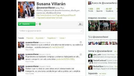 Susana Villarán a transportistas: No cederé al chantaje