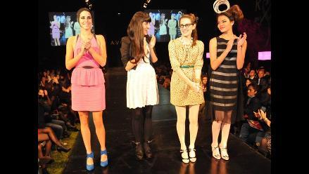 Jessica Butrich y Mozhdeh Matin unieron su talento en pasarela rosa