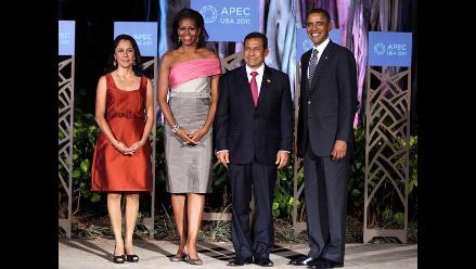 Ollanta Humala participó en cena de honor de APEC en Hawaii
