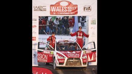 Nicolás Fuchs cierra de buena forma el Mundial de Rally 2011