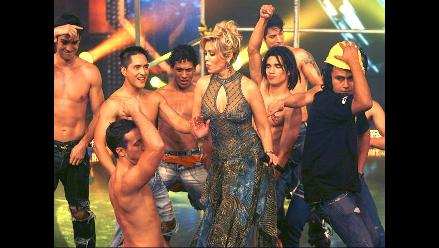 Gisela se emociona con sexy dance masculino en Reyes del Show