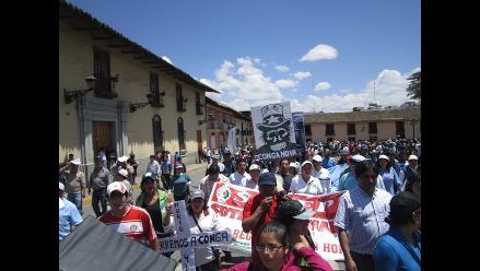 Cajamarca: Anuncian paro indefinido contra proyecto minero Conga