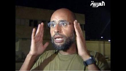 El hijo de Gadafi sigue prófugo en Libia
