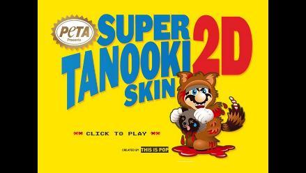 PETA ataca a Mario Bros por utilizar el traje del mapache