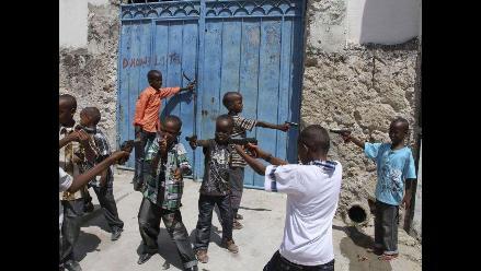 Unicef: Unos 600 niños fueron reclutados por grupos armados somalíes