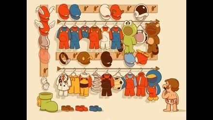 Conozca los divertidos trajes de Mario Bros