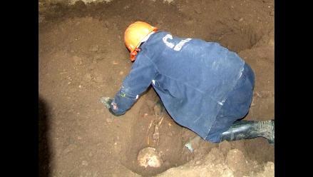 Tarma: Hallan restos óseos humanos enterrados en iglesia de Huasahuasi