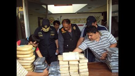 Amazonas: Decomisan más de 100 kilos de clorhidrato de cocaína