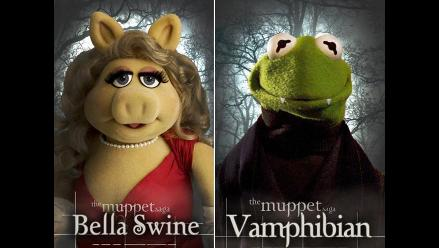 Pintoresca parodia de los Muppets a la saga Crepúsculo