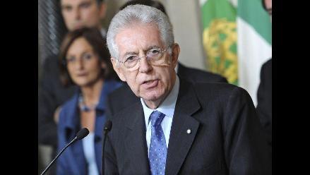 Mario Monti juró su cargo como nuevo jefe del Gobierno italiano