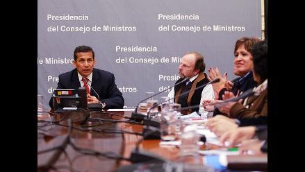 Presidente Humala saluda a CGTP por XIII Congreso Nacional