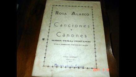 Homenaje al centenario de nacimiento de musicóloga Rosa Alarco