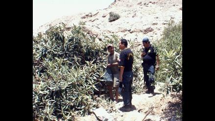 Lambayeque: Detienen a 8 sujetos cuando profanaban huaca Las Chaquiras