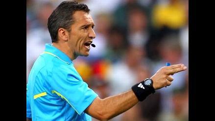 Árbitro uruguayo Jorge Larrionda arbitrará semifinal de la Sudamericana