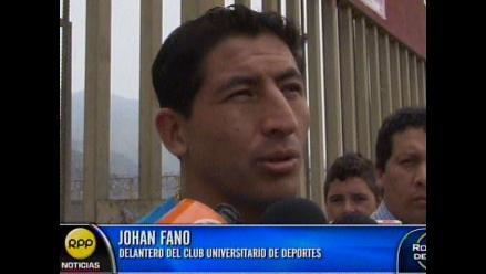 Johan Fano: Tener un técnico con el que fuiste goleador te abre puertas