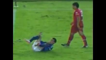 Jugador se fractura tibia y peroné en el Millonarios-América en Colombia