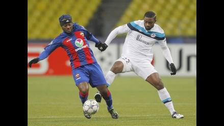 Lille sorprendió al CSKA Moscú y mantiene opciones de alcanzar octavos