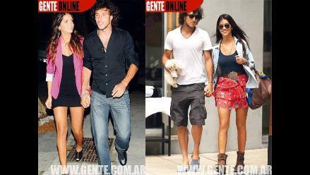 Modelo Zaira Nara y tenista Juan Mónaco ventilan su amor por todos lados