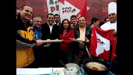 El 90% de la pesca de Perú se destina a fabricar harina y aceite