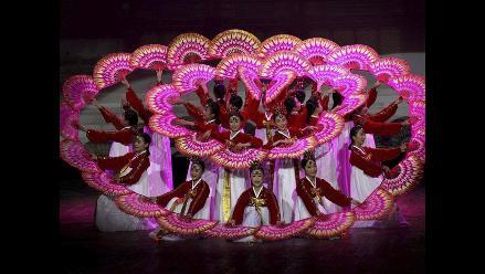 Hermoso ballet surcoreano en India
