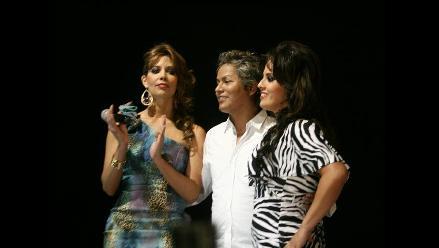 Rosario Ponce debutó como modelo de pasarela en Jesús María