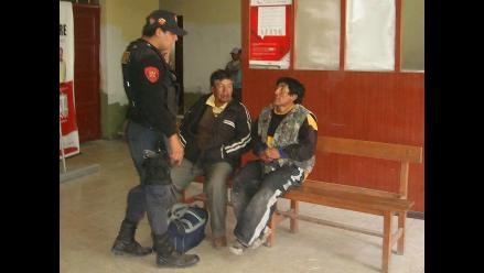 Detienen a dos microcomercializadores de droga en Piura