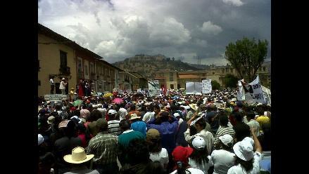 Ciudadanos muestran paralización de Cajamarca en segundo día de paro