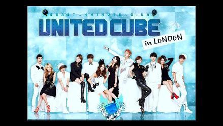 United Cube brindará concierto en Londres