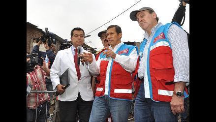 Presidente Humala lanza el Sistema de Atención Móvil de Urgencia