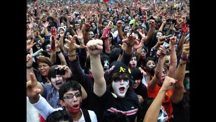 Zombies superan récords Guinness en México
