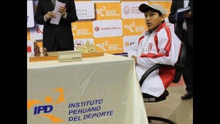 Jorge Cori arriba a Lima tras ganar título Mundial Sub 16 de ajedrez