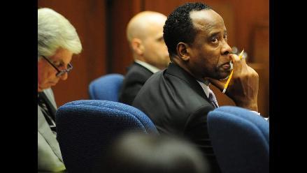 Sentencian a cuatro años de prisión a Murray por muerte de Jackson