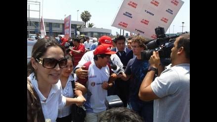 Jorge Cori llegó a Lima en medio de gran expectativa por título mundial