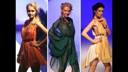 Lo nuevo en ropa femenina en la Semana de la Moda de Tiflís en Georgia