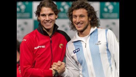 España y Argentina protagonizan infartante final de la Copa Davis