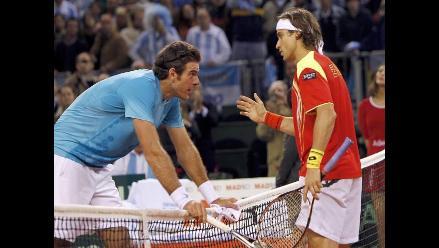 Solo una vez se remontó un 2-0 en una final de Copa Davis