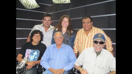 Gerardo Manuel y Edmundo Delgado visitan a Los Chistosos