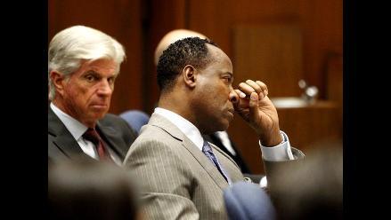 Conrad Murray apela la sentencia que le condena por muerte de Jackson