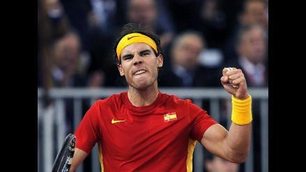 Rafael Nadal derrota a Del Potro y gana la Copa Davis con España